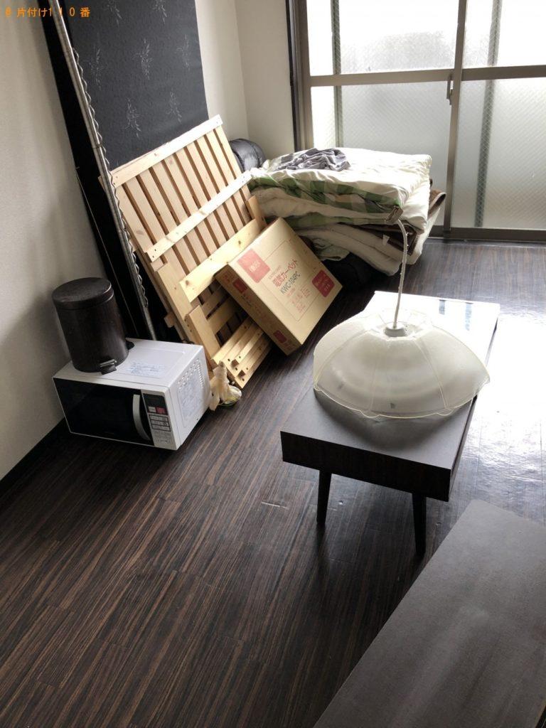 【八王子市】遺品整理に伴い電子レンジ、ガスコンロ、ホットカーペット等の回収・処分