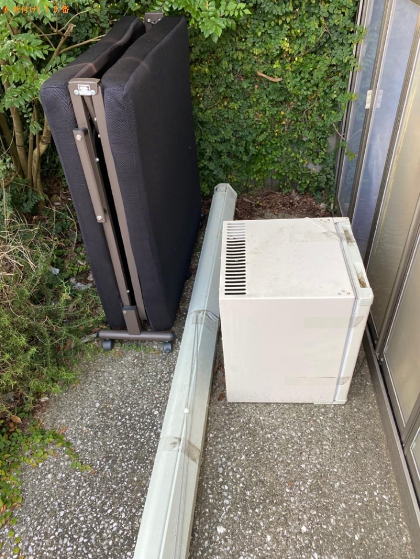 【鳥取市】折り畳みベッド、保冷庫の回収・処分ご依頼 お客様の声