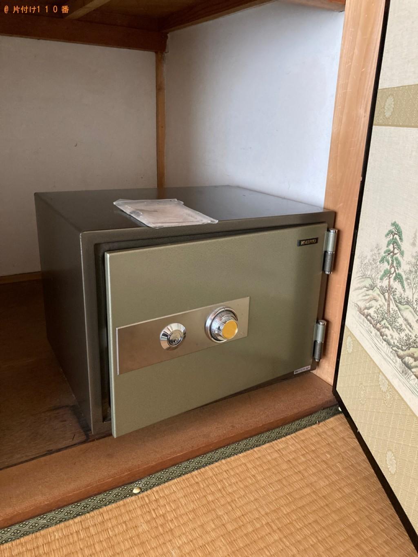 【鳥取市】金庫の回収・処分ご依頼 お客様の声