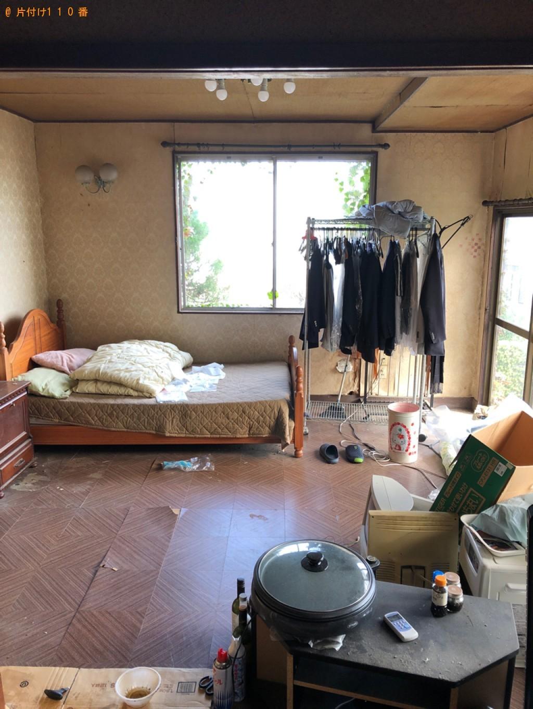 【鳥取市】タンス、布団、ベッド、衣類、テレビ台等の回収・処分