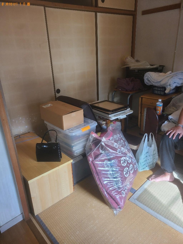 【鳥取市】電子レンジ、炊飯器、ポット、収納ケース、かご等の回収