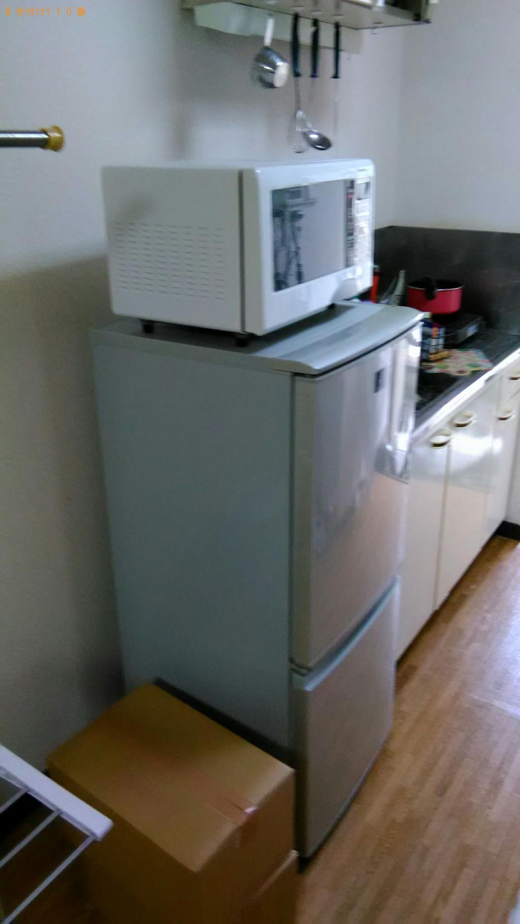 【伯耆町】冷蔵庫、洗濯機、電子レンジ等の回収・処分