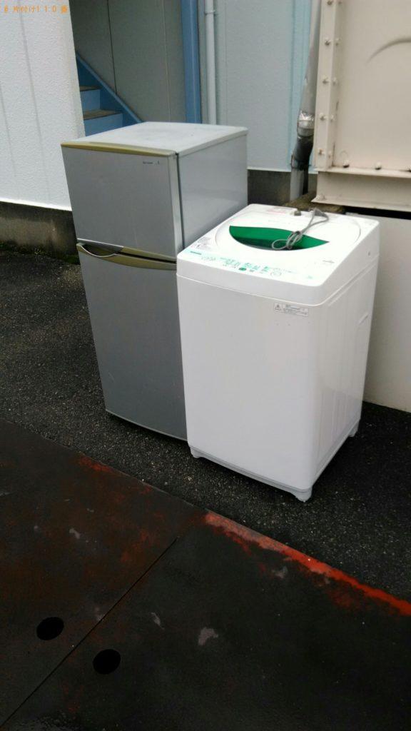 【三朝町】冷蔵庫、洗濯機の回収・処分ご依頼 お客様の声