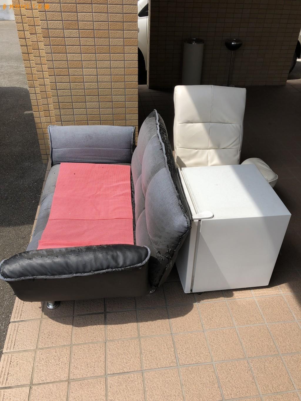 【岩美町】冷蔵庫とソファーの回収・処分 お客様の声