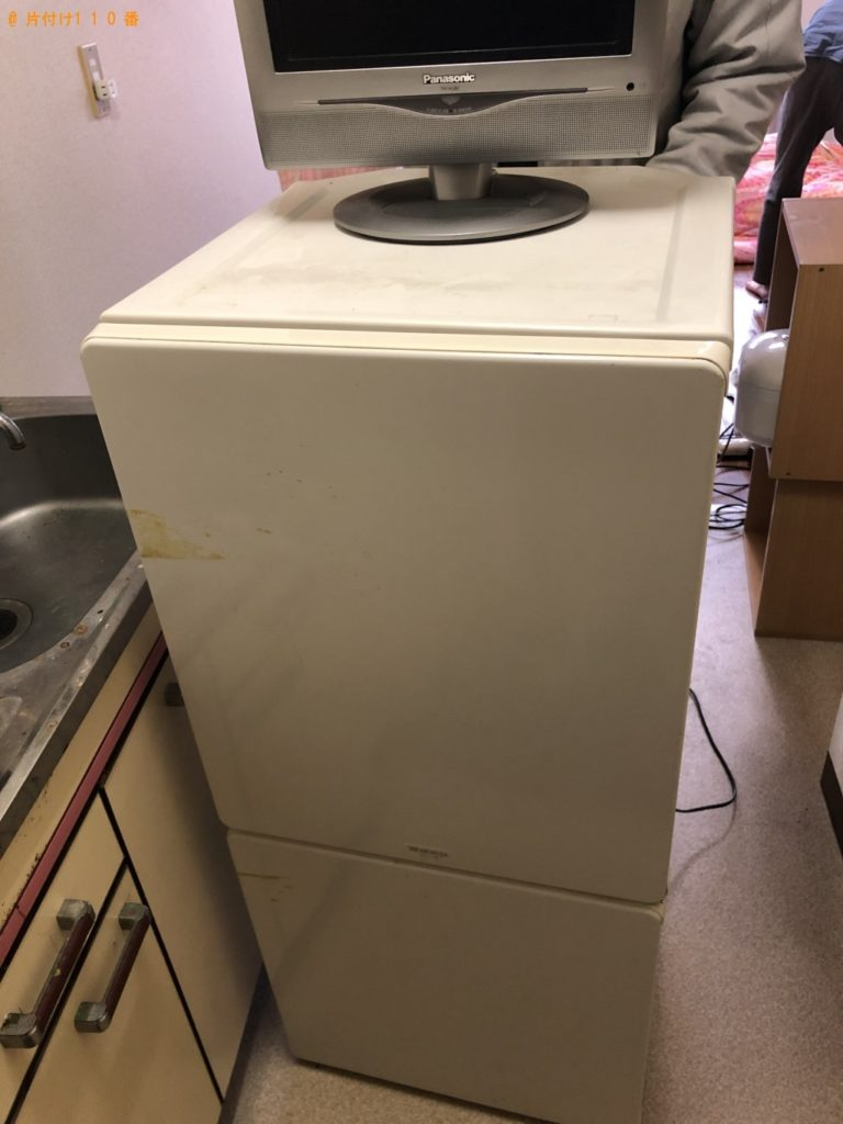 【鳥取県日野町】冷蔵庫、テレビの回収・処分ご依頼 お客様の声