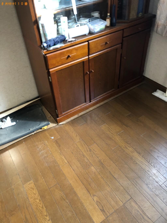 【倉吉市】遺品整理で冷蔵庫、テレビ、パソコン、モニタ等の回収・処分