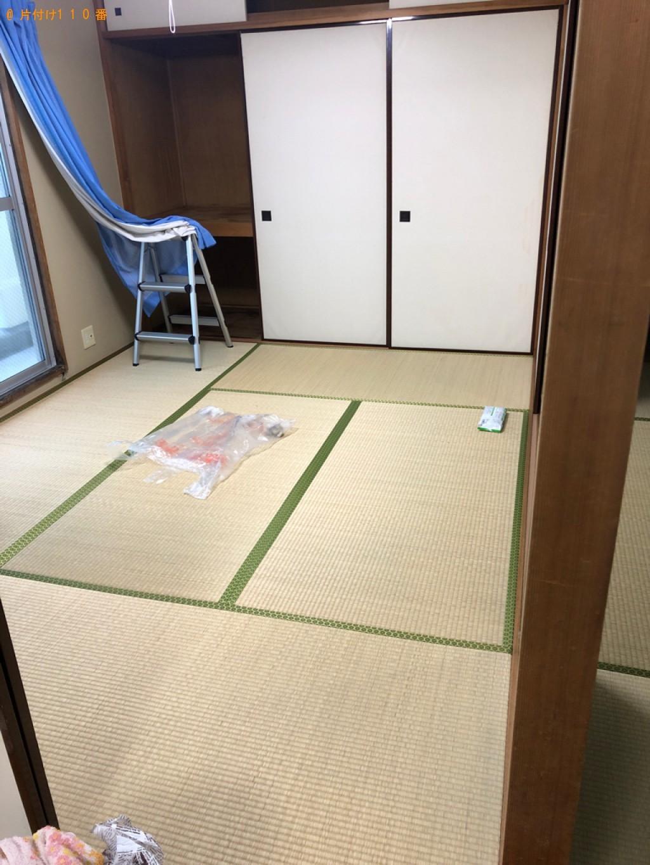 【鳥取市馬場町】冷蔵庫、洗濯機、本棚、衣装ケース等の回収・処分
