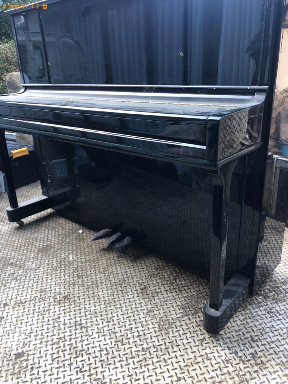 【八頭郡八頭町】ピアノの回収・処分ご依頼 お客様の声