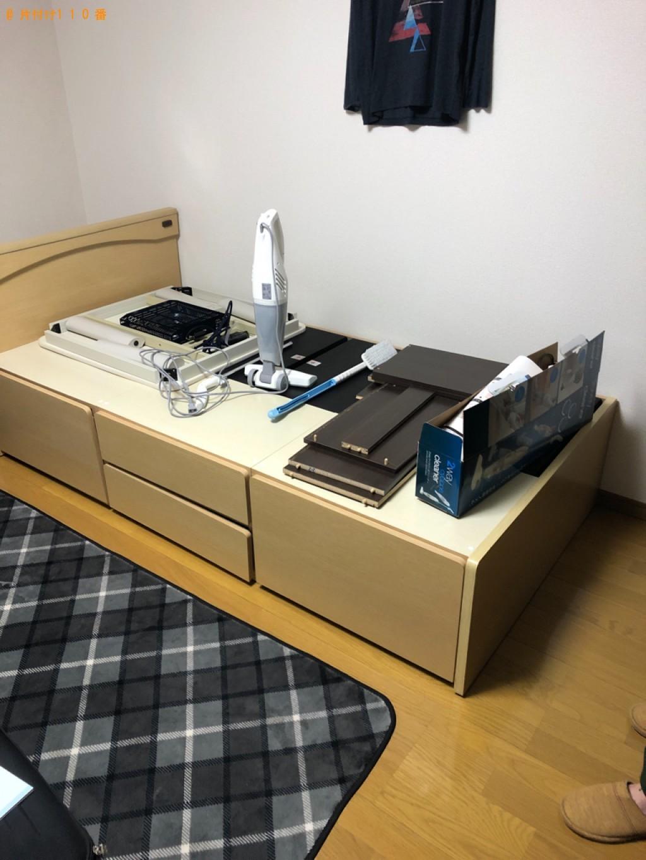 【鳥取市】テレビ、こたつ、シングルベッド、木材等の回収・処分