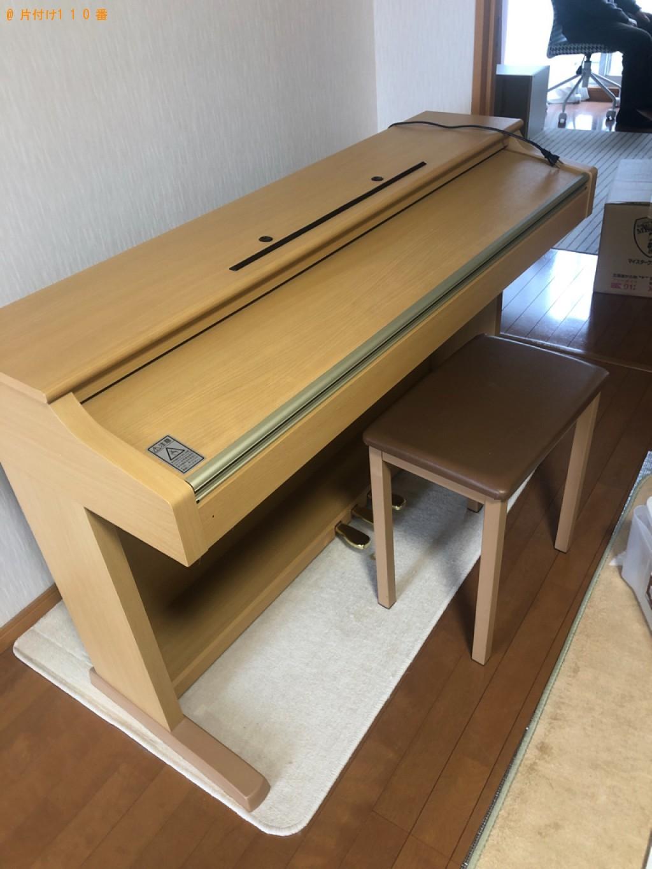 【鳥取市湖山町】電子ピアノの回収・処分ご依頼 お客様の声