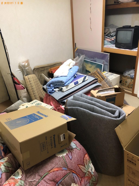 【鳥取市】テレビ、洗濯機、カーペット、布団等の回収・処分ご依頼