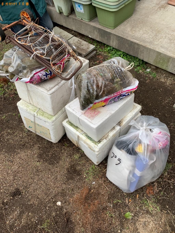 【鳥取市扇町】タンス、プランター、防草シート等の回収・処分ご依頼