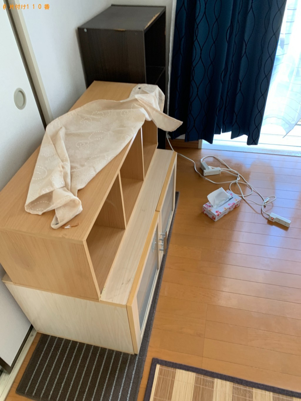 【鳥取市湖山町】冷蔵庫、洗濯機、二人掛けソファー、炊飯器等の回収