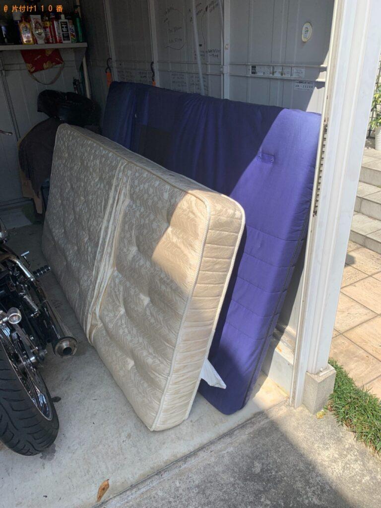 シングルベッドマットレス、ソファーベッドの回収