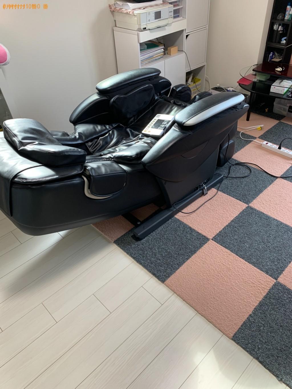 【鳥取市】マッサージチェア、家具の回収・処分ご依頼 お客様の声