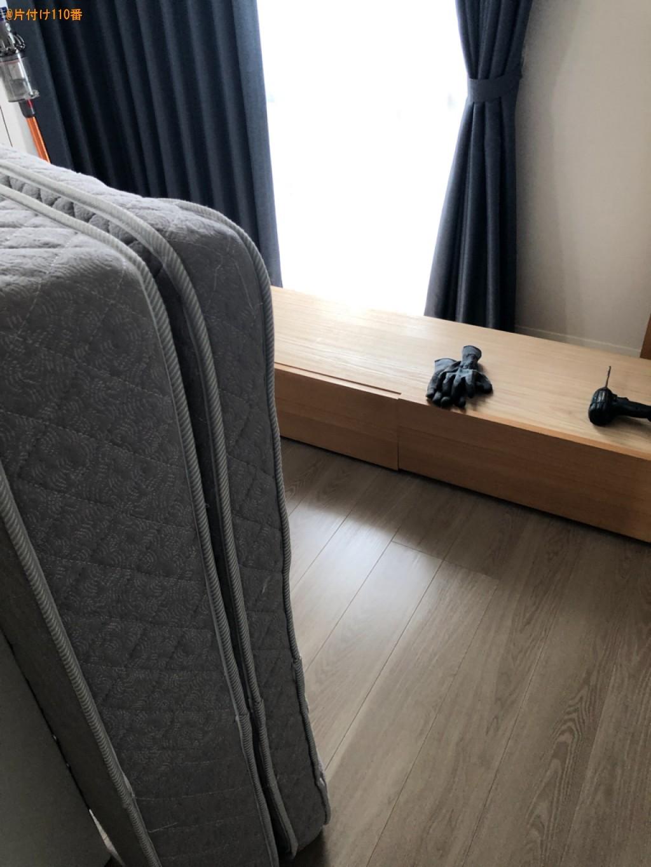 二人掛けソファー、テレビ、テレビボード、家具等の回収・処分ご依頼